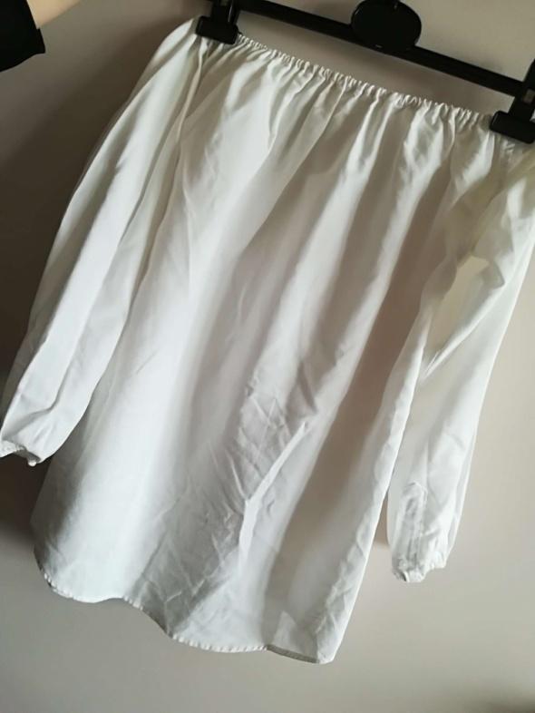 Biala bluzka hiszpanka XS S