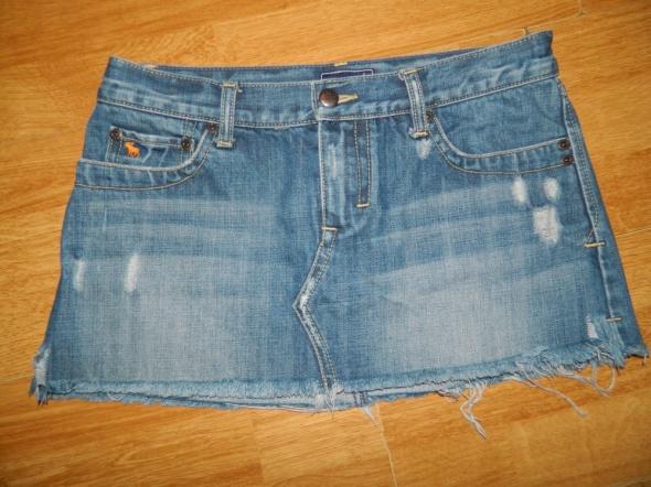 Abercrombie & Fitch jeansowa mini spódniczka roz 36...