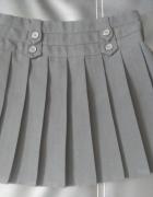 nowa spódnica 6 7 lat czarna plisowanka do szkoły na galowo...