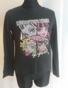 bluzka 128 Monster High czarna...