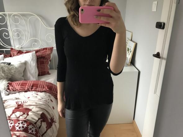 Basic czarna bluzka...