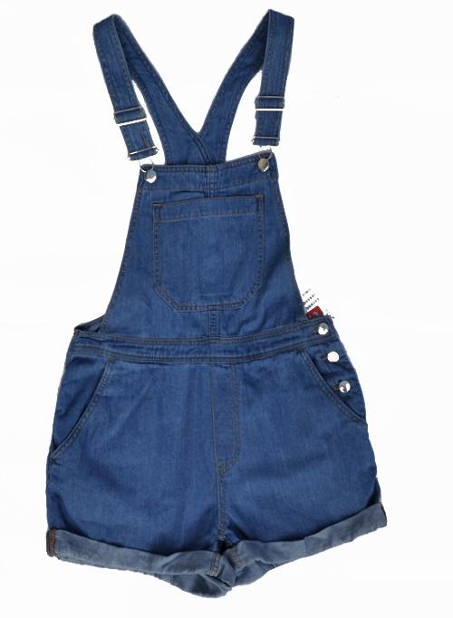 Tylko dziś darmowa dostawa InPost Świetne nowe jeansowe ogrodniczki HM