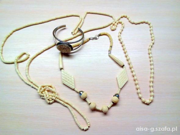 Biżuteria z kości ZABYTKI