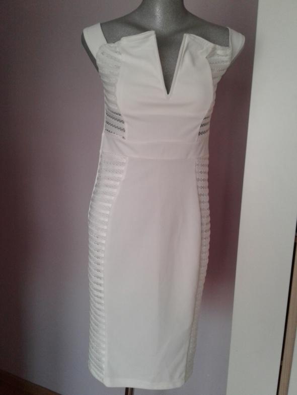 Super sukienka rozm 38 biała...