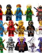 Ninja Ninjago Mini Figurki Komplet 15 Sztuk 2015...