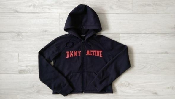 Bluza DKNY sportowa z kapturem S