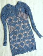 sukienka koronkowa 38