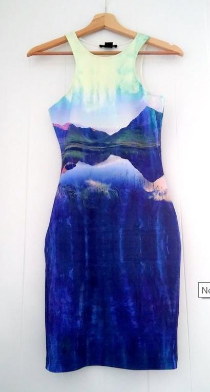 sukienka dopasowana tuba beyonce H&M paradise