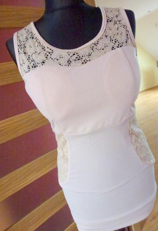 nowa koronka sukienka 36