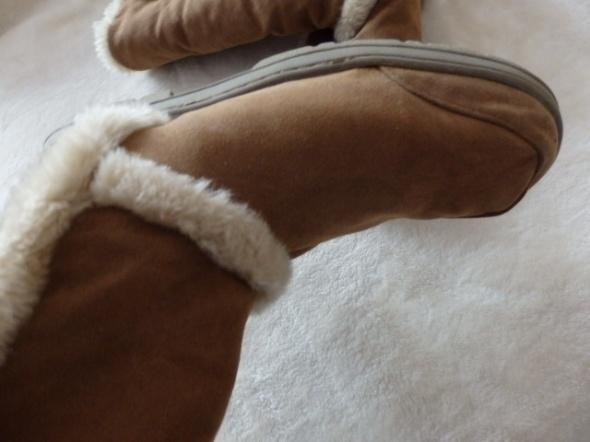 buty ciepłe zimowe kożuch
