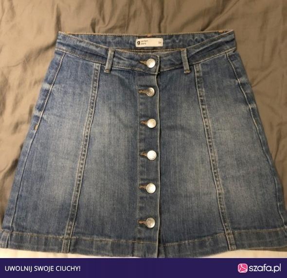 Spódnice Wyprzedaż jeansowa spódniczka