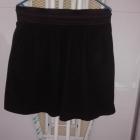czarna spodnica reserved