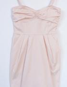 Nowa sukienka MANGO xs pudrowy róż...