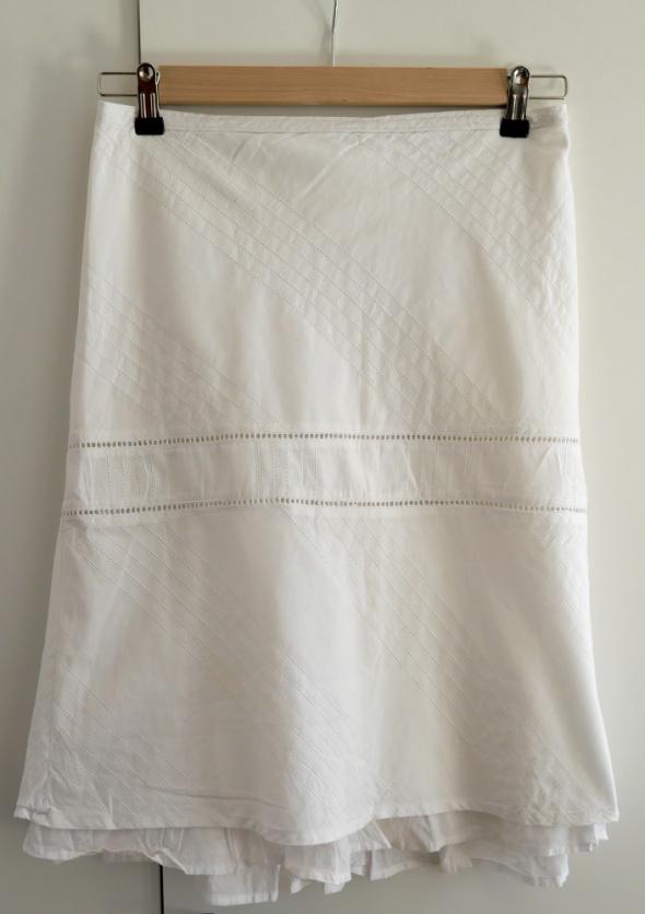 Spódnice Letnia biała spódnica