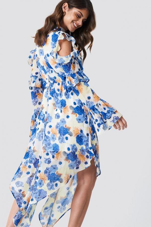 Sukienka kwiaty zara...