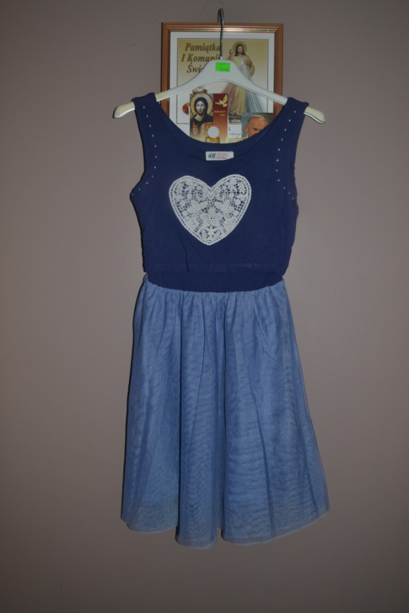11e3b1faca3991 Sukienka HM 134cm 140cm 146cm 9 10 11 lat w Sukienki i spódniczki ...
