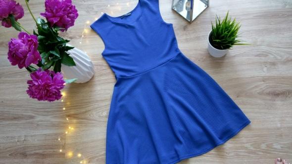 Sukienka Atmosphere kobaltowa chabrowa M