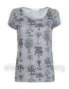 Koszulka t shirt bluzka w palmy Uttam Boutique...