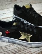 Sneakersy skórzane...
