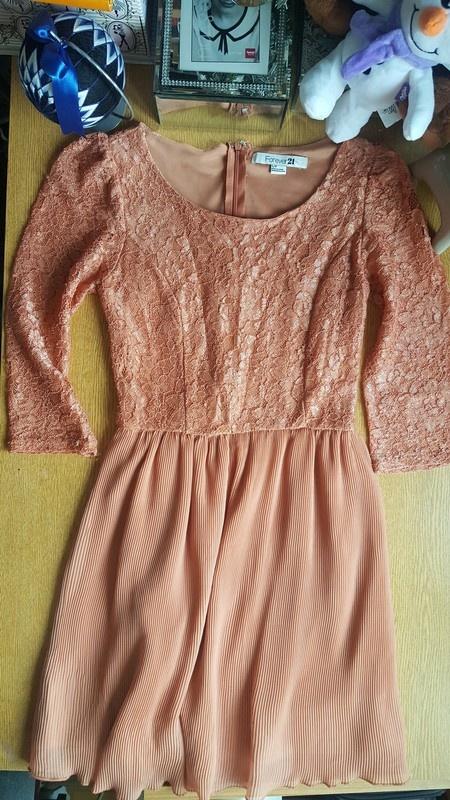 Nowa elegancka koronkowa sukienka Forever 21 s...