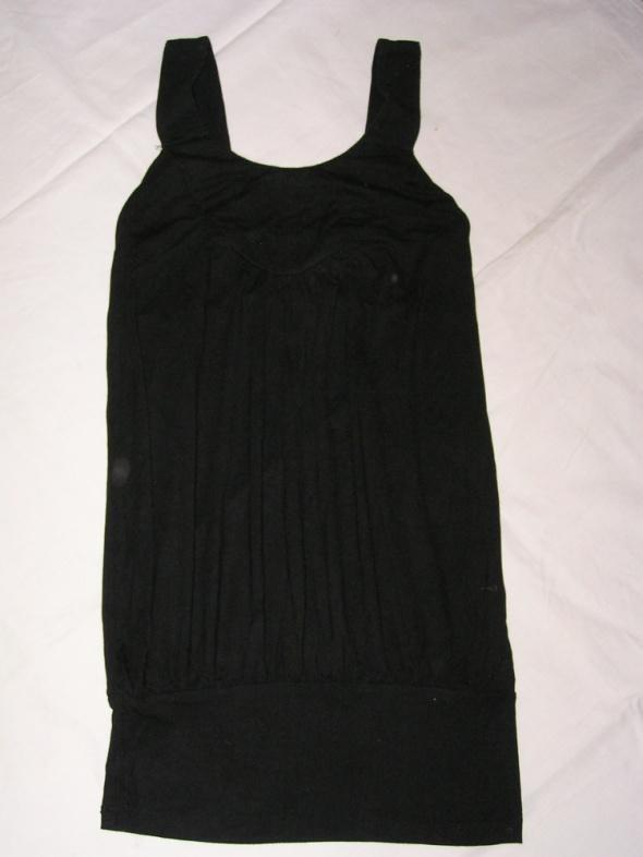Nowa czarne tunika sukienka mini