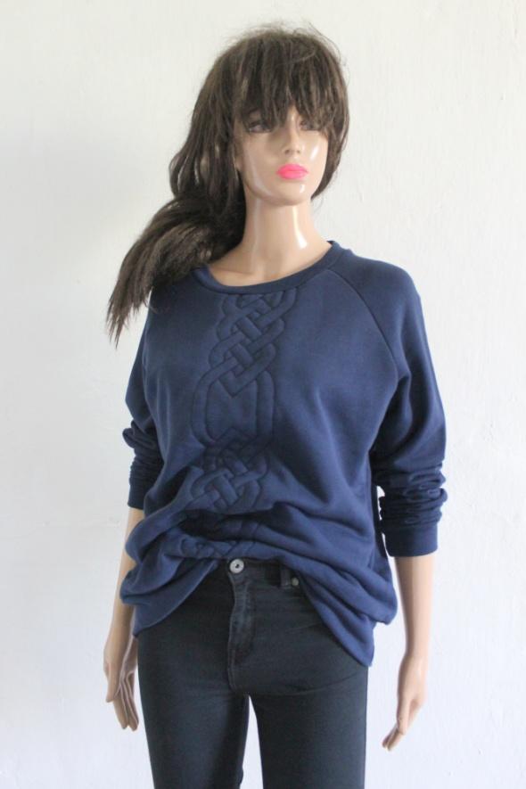 Granatowa bluza r L...