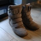 Szare Sneakersy
