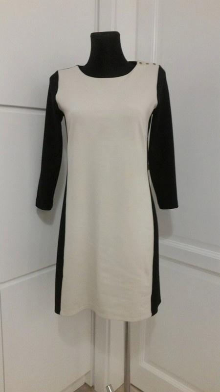 Dwukolorowa klasyczna sukienka Reserved M...