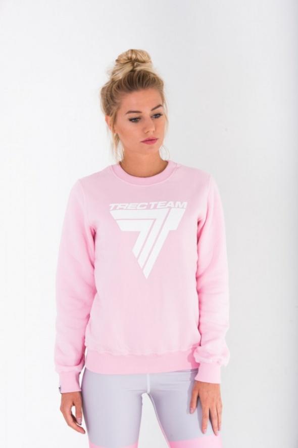 Różowa Bluza Adidas L XL w Bluzy Szafa.pl
