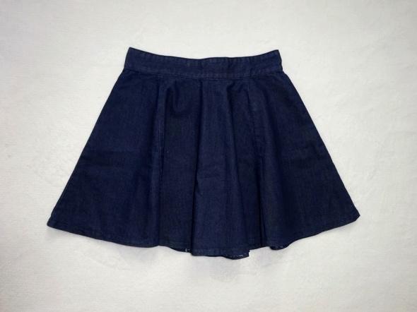 Denim Co jeansowa spódniczka rozkloszowana 36 S...