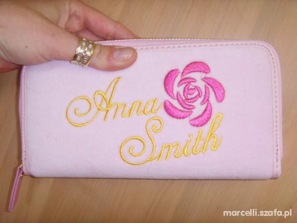 Extra Slodziak Portfel ANNA SMITH Pink