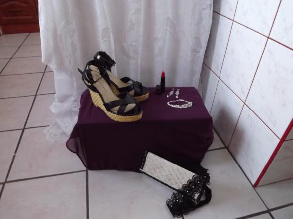 Sandały sandały na koturnie 38 Dorothy Perkins