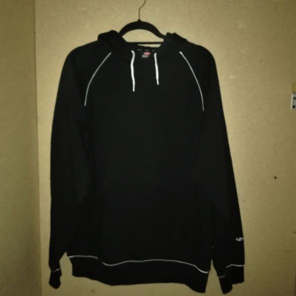 Czarna bluza z kapturem XL 48 50