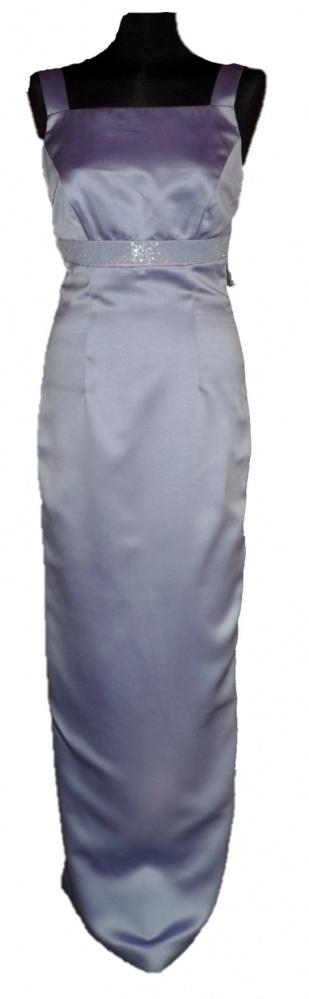 Suknie i sukienki Szafirowa suknia balowa z USA maxi ołówkowa mega sexy studniówka wesele