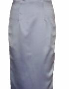 Szafirowa suknia balowa z USA maxi ołówkowa mega sexy studniówk...