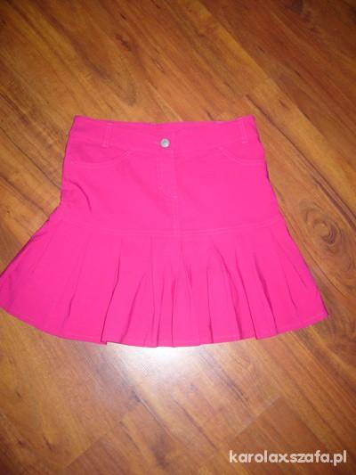 Spódnice KappAhl neonowa plisowana
