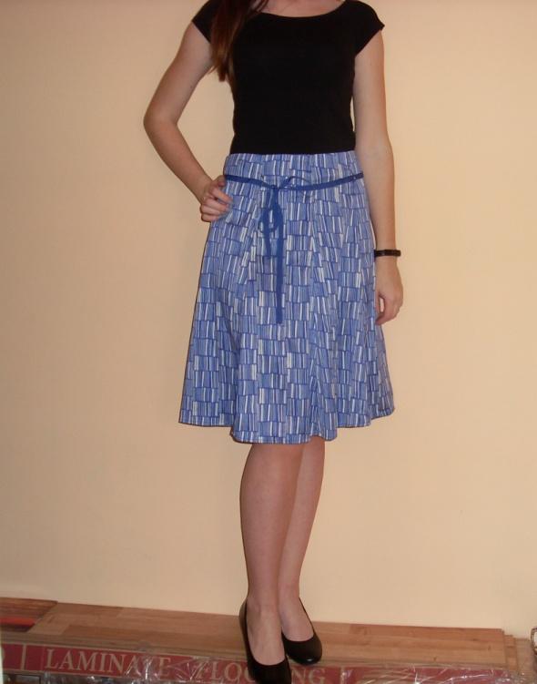 c530d51b1addc2 NOWA czarna spódniczka spódnica ołówkowa midi elegancka biznesowa 36 ...