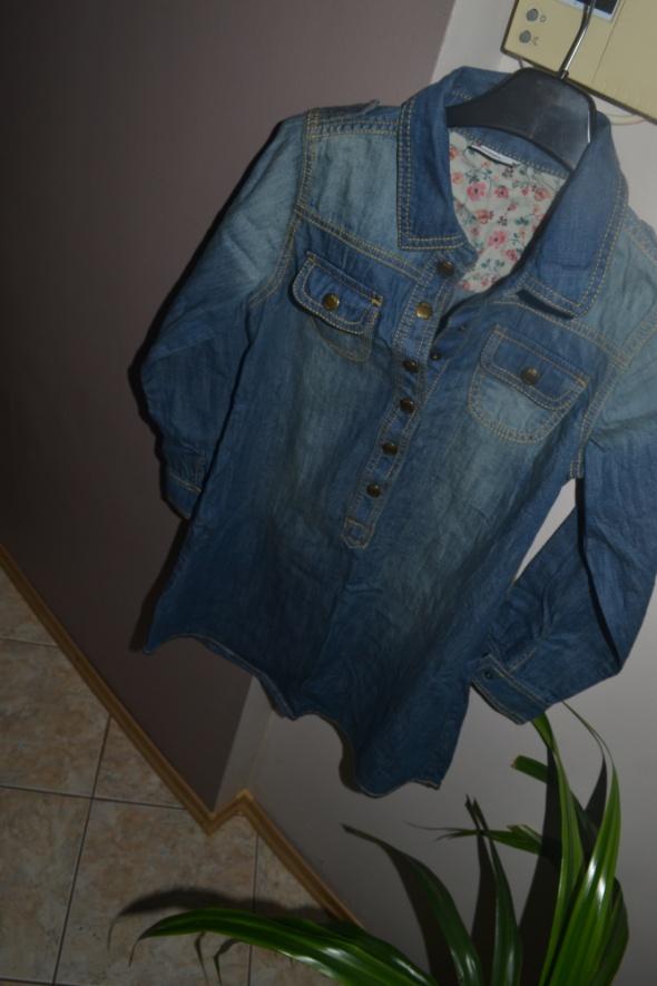 a8bfa41c85 Next Nowa jeansowa tuniko sukienka 140cm 11 lat 146cm w Sukienki i ...