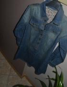 Next Nowa jeansowa tuniko sukienka 140cm 11 lat 146cm...