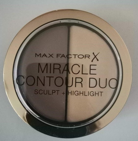 Max Factor Miracle Contour Duo paletka do konturowania twarzy rozświetlacz NOWY