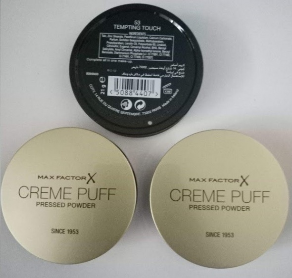Max Factor Creme Puff puder prasowany odcień 53 Tempting Touch NOWY