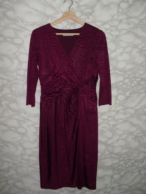 Gina Bacconi elegancka sukienka wizytowa ołówkowa...