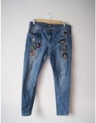 Spodnie New Yorker naszywki...