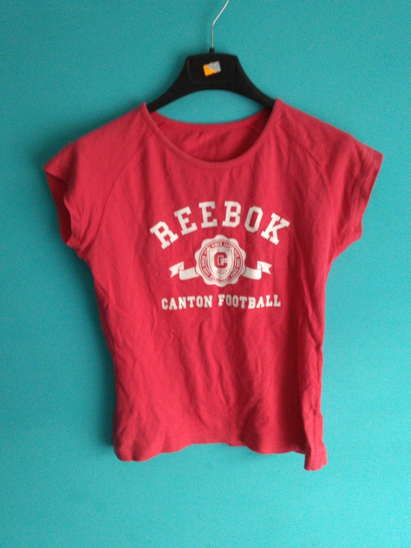 Koszulki Różowa koszulka z krótkim rękawem Reebok 36