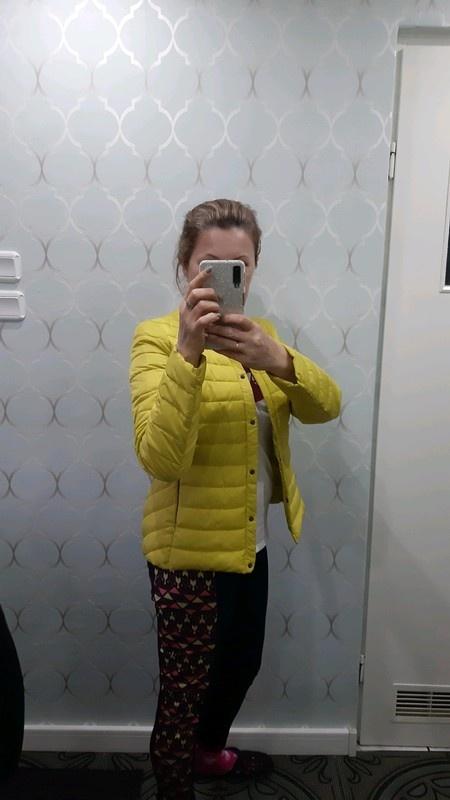 Limonkowa kurtka L