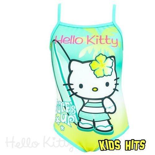 seledynowy stró kąpielowy Hello Kitty 8 l