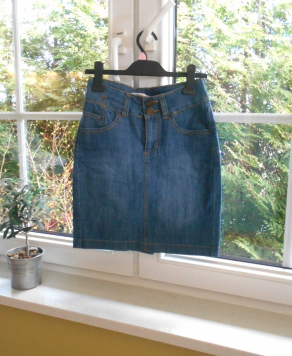 Carry spódnica jeansowa jeans ołówkowa bodycon...