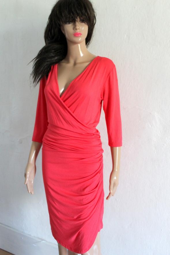 43340d57 Kopertowa dopasowana sukienka r około L XL w Suknie i sukienki ...