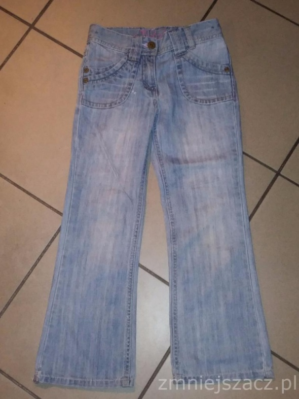 spodnie dżinsy NEXT 122