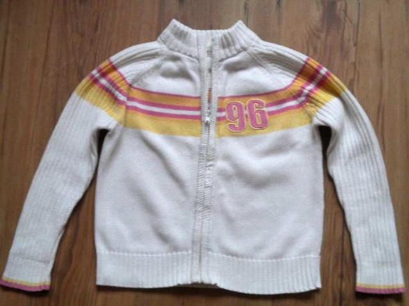biały sweter firma George rozmiar 110